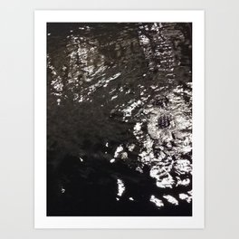 Gater in the Water Art Print