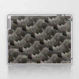 Rhino Heads Laptop & iPad Skin