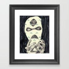 Mask 2 Framed Art Print