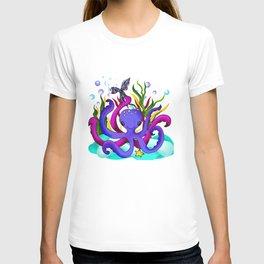 Octopus illustration T-shirt