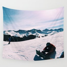 COLORADO SNOWBOARDERS Wall Tapestry