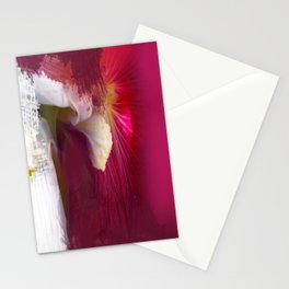 Crimson Orchid Stationery Cards