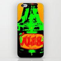 ale giorgini iPhone & iPod Skins featuring Ale-8-One (Bottle) by Silvio Ledbetter
