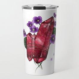 Capricorn Crystal Travel Mug