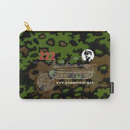 Michael Wittmann Panzer Ace 222 Villers Bocage Camo Carry-All Pouch