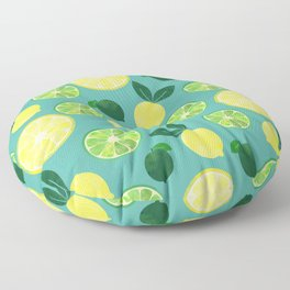 Lemon Lime Floor Pillow
