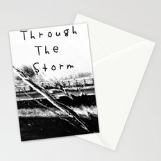 Though the storm Stationery Cards