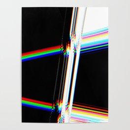rainbow crack Poster