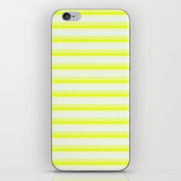 Yellow Stripes iPhone Skin
