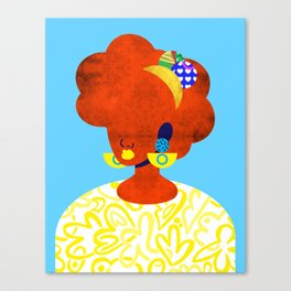 Earrings No. 1 Canvas Print
