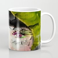 depression Mugs featuring Depression by Amber Dawn Hilton