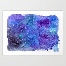 Galaxy Love:. Art Print
