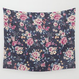 Floral Pattern 5.2 Wall Tapestry