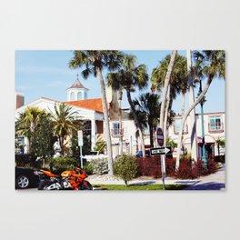 Florida Summers Canvas Print