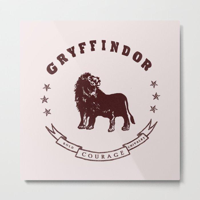 Gryffindor House Metal Print