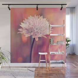 Chive blossom Wall Mural
