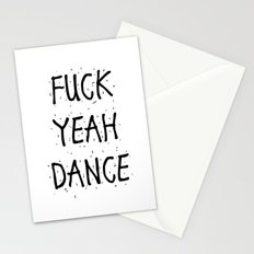 F*CK YEAH DANCE Stationery Cards