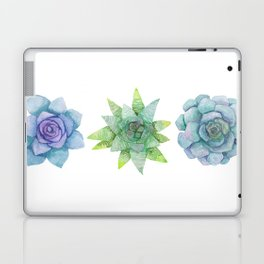 Watercolor Succulents No.2 Laptop & iPad Skin