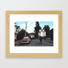 Berkeley Framed Art Print