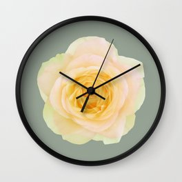 bed of roses: texas Wall Clock