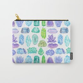 Rock, Mineral and Gemstone Print 1 Carry-All Pouch