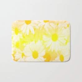 Sunshine Daisies Bath Mat