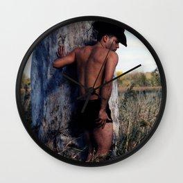 """Fernando """"Cowboy Brush"""" Wall Clock"""