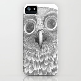 Little Morepork Owl iPhone Case
