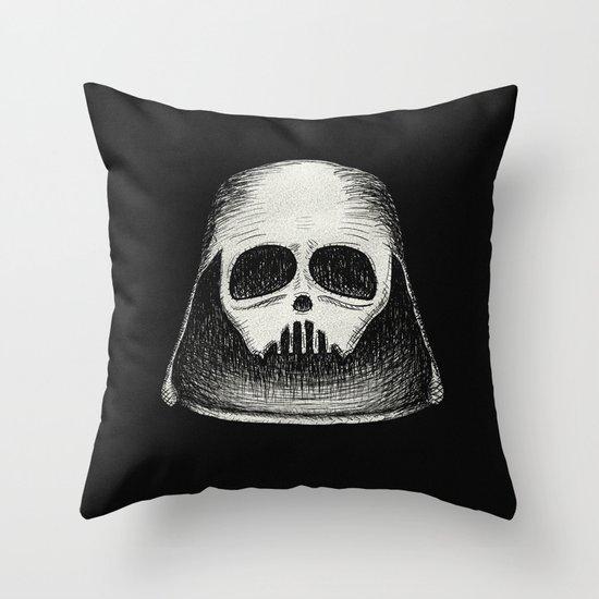 Death Vader Throw Pillow
