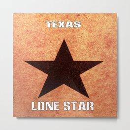 Texas Lone Star Metal Print