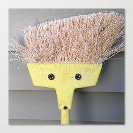 Having a bad hair day? Canvas Print