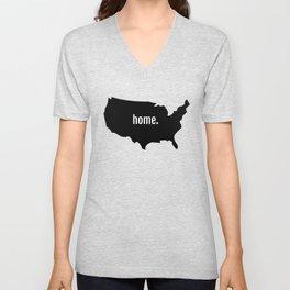 Home T Shirt Unisex V-Neck
