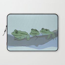 Frog squad Laptop Sleeve