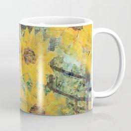 """Sunflowers In The Mist"" Coffee Mug"