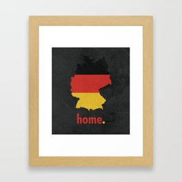 Germany Proud Framed Art Print