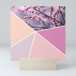 Soft Pastel Cherry Blossom Mini Art Print