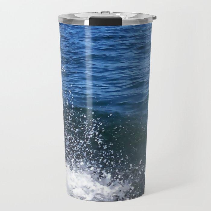 Seafoam and splashes Travel Mug