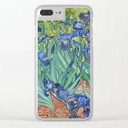 Irises - Vincent Van Gogh Clear iPhone Case