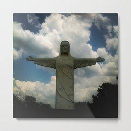 Christ of the Ozarks Metal Print