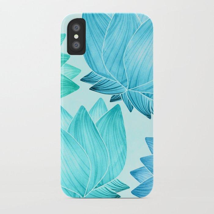 Lotus Love II / Zen Teal Palette iPhone Case