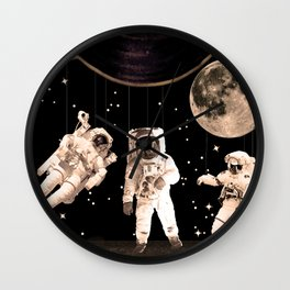 NASA [Astronaut] Puppets Wall Clock