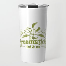 Three Broomsticks Travel Mug