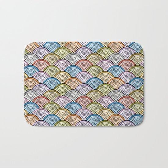 Mosaic Archs - Bright Night Bath Mat