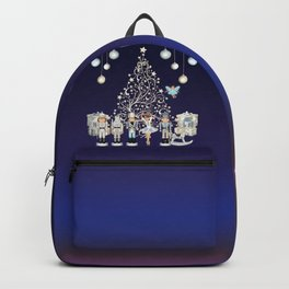 Christmas time - Nutckracker Story on Christmas eve Backpack