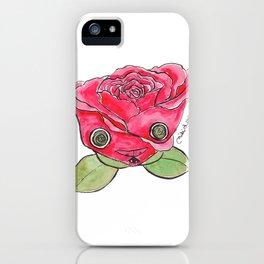 """""""Oro?"""" Valentine's Rose iPhone Case"""