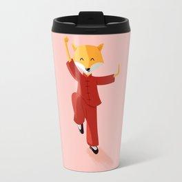 Mr. Fox knows Kung fu Travel Mug