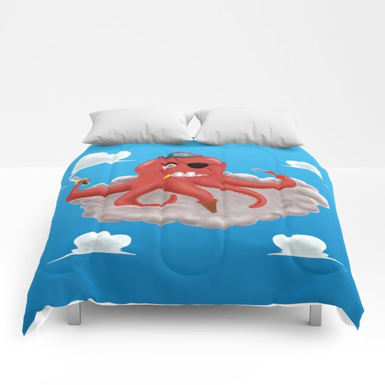 Pirate Octopus Comforters
