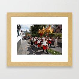 Procession Framed Art Print