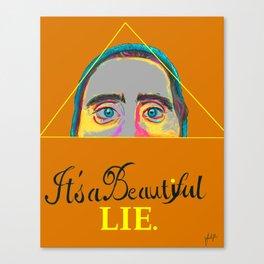 Jared Leto Tribute Canvas Print