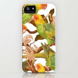 The extinction of the Carolina Parakeet. iPhone Case